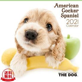 【送料無料】THE DOG 2021年 カレンダー アメリカン・コッカー・スパニエル[犬/ドッグ/ペット/calendar/令和/壁掛け]