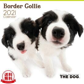 【送料無料】THE DOG 2021年 カレンダー ボーダーコリー[犬/ドッグ/ペット/calendar/令和/壁掛け]