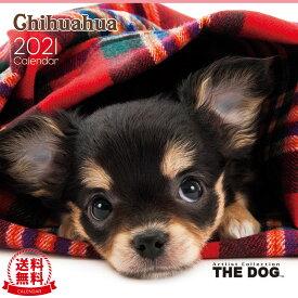 【送料無料】THE DOG 2021年 カレンダー チワワ[犬/ドッグ/ペット/calendar/令和/壁掛け]