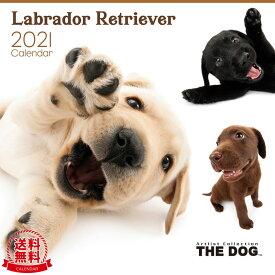 【送料無料】THE DOG 2021年 カレンダー ラブラドールレトリーバー[犬/ドッグ/ペット/calendar/令和/壁掛け]