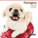 【送料無料】THE DOG 2021年 カレンダー ペキニーズ[犬/ドッグ/ペット/calendar/令和/壁掛け]