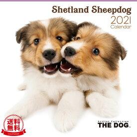 【送料無料】THE DOG 2021年 カレンダー シェットランドシープドッグ[シェルティ/犬/ドッグ/ペット/calendar/令和/壁掛け]