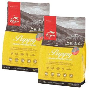 【30%OFF】Orijen オリジン パピー 子犬用 2kg×2袋【送料無料】【オリジンランクアップキャンペーン】[肉の日/セール/犬/総合栄養食/プレミアムフード]