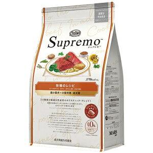 Nutro Supremo ニュートロ シュプレモ 超小型犬〜小型犬用 成犬用 牧場のレシピ ビーフ 4kg