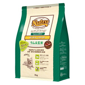 Nutro ニュートロ ナチュラルチョイス 超小型犬〜小型犬用 シニア犬用 ラム&玄米 6kg