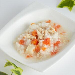 komachi-na- 比内地鶏雑炊 ささみと野菜 80g[コマチナ/超小型犬/小型犬/中型犬/大型犬/ペット/国産/秋田/アクシエ]