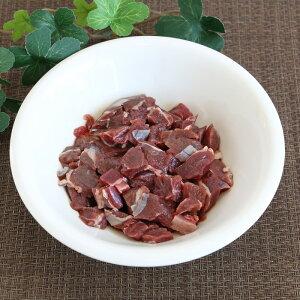 【生肉】 冷凍 エゾ鹿肉 ダイス 100g[北海道/エゾシカ/蝦夷鹿/低脂肪/高タンパク/低カロリー/肥満/ダイエット/肉の日/大型犬/中型犬/小型犬/犬/猫]