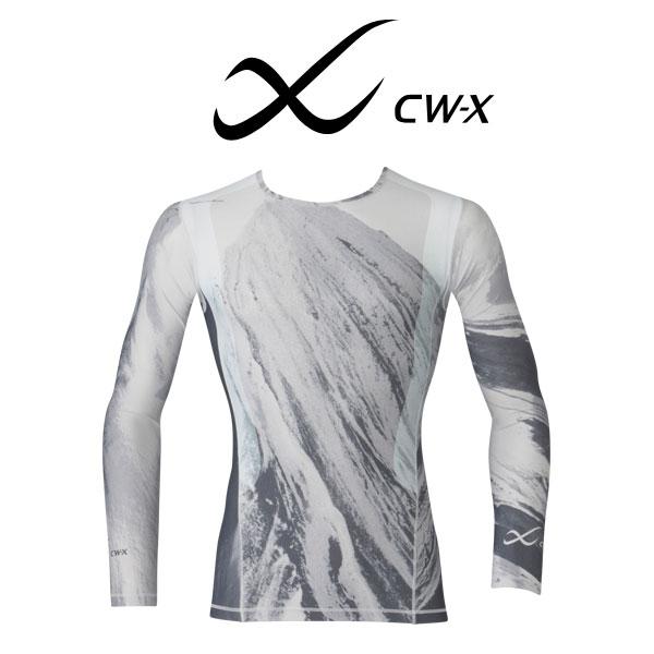 ワコール CW-X 柔流 レボリューションタイプ 丸首ロングスリーブシャツ メンズJAO001【wcl-cwx-mt】【n】【310】【n10】【p】【】