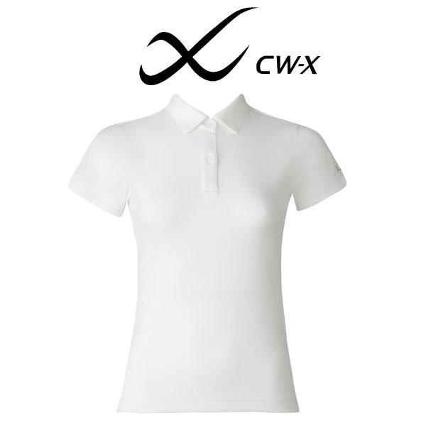 [ワコール]CW-X スポーツアウター トップ-ポロシャツ(半袖)ライトメッシュ<レディース>DLY543【wcl-cwx-w】【n】【n07】【p】【】