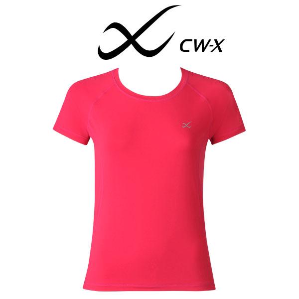 ワコール CW-X スポーツアウター トップ Tシャツ 半袖 レディース DLY546【n】【n10】【p】【】