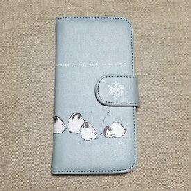 iPhone7Plus iPhone6Plus iphone6sPlus ケース 手帳型 手帳型ケース ペンギン iPhone6Plusケース iphone6sPlusケース カバー アイフォンプラス スマホケース