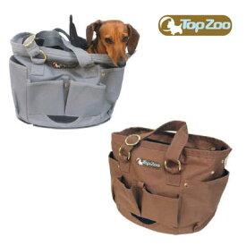 TOPZOO(トップズー) トラベルバッグ ベーター キャリーバッグ 犬 猫|ペット用品 ペットグッズ ペット 猫用品 犬用品 犬用品(グッズ) ドッグ キャリー バッグ ドッグキャリー ペットキャリー おしゃれ ペットキャリーバッグ 犬用バッグ バック キャリーバック