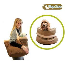 TOPZOO(トップズー) ドゥドゥバッグ キャリーバッグ ベッド 犬 猫|ペット用品 ペットグッズ ペット 猫用品 猫用品(グッズ) 犬用品 犬用品(グッズ) ベット ドッグ キャリー バッグ ドッグキャリー ペットキャリー おしゃれ ペットキャリーバッグ バック キャリーバック