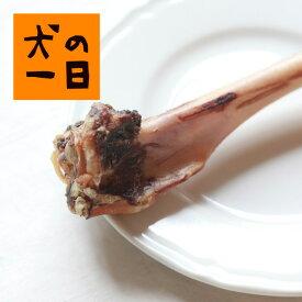 【ジビエのおやつ・天然鹿の骨(大)1本】 広島県産の大きな鹿の骨です。【完全無添加・手づくり】お肉が付いた鹿の骨です。齧りながら歯のお手入れになります。【犬 おやつ】