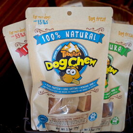 チベタンドッグチュー Sサイズヤクと牛のミルクで作られたチーズです。チーズ本来の香りと味が濃縮!わんちゃんの大好きな硬いおやつです。 犬 おやつ おうち時間 ペット ペット用品
