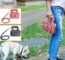 犬用 リード付き キャリーバッグ ポーチ 小型犬用 お散歩バッグ キャリーケース 犬屋