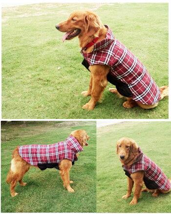 犬服秋冬小型犬中型犬用防寒ジャケットコートブルゾンベストダウン風ペット洋服