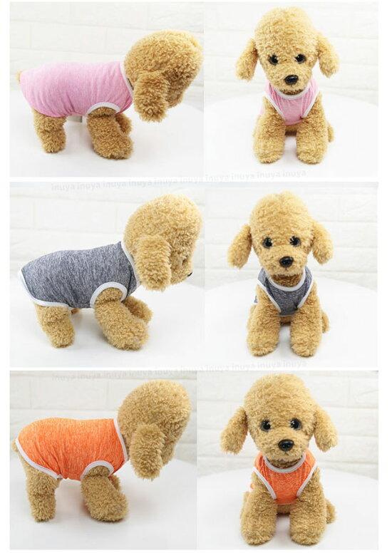 犬服タンクトップS〜XL小型犬用ドッグウェア