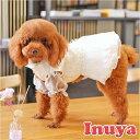 犬服 【シースルー ホワイト ドレス】  ...