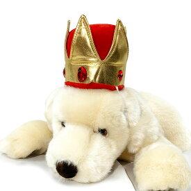 【 犬 王冠 金/赤 】 クラウン 誕生日 キャップ かぶりもの お誕生日 猫 帽子 パーティー コスプレ 小型犬 パーティー ハロウィン グッズ 犬屋 送料無料