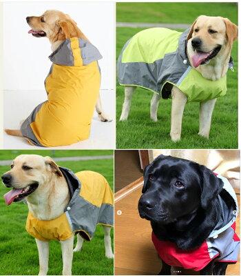 犬・レインコート・大型犬・中型犬・雨具・春夏秋冬・雪・ボーダーコリー・バーニーズ