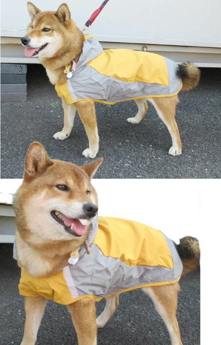 犬・レインコート・大型犬・中型犬・雨具・春夏秋冬・雪・柴犬