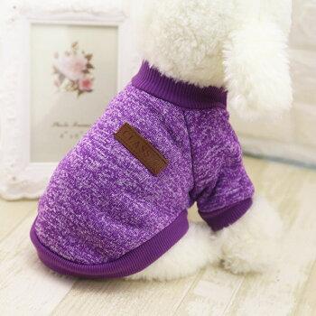 犬服・冬・半袖・Tシャツ・CLASSIC・小型犬用・ドッグウェア
