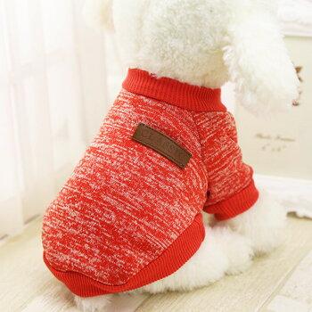 犬服半袖CLASSICトレーナー小型犬インナー部屋着春夏秋冬ブランド(チワワヨーキートイプードルマルチーズダックスフンドシュナウザーなど)ペット洋服