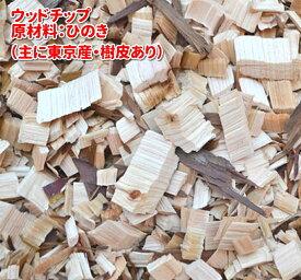 ひのき ウッドチップ 樹皮有り50L×2袋(ヒノキ 国産 ) 中型犬〜大型犬向き 犬屋 送料無料