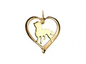 キャバリア ドッグシルエット 18金 ゴールド モチーフ ネックレス レディース シンプル 送料無料 アクセサリー 雑貨ケース付き メンズ レディース ペット 犬 愛犬家 箱 ドッグネックレス 可愛い