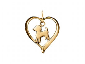 トイプードル ドッグシルエット 18金 ゴールド モチーフ ネックレス レディース シンプル 送料無料 アクセサリー 雑貨ケース付き メンズ レディース ペット 犬 愛犬家 箱 ドッグネックレス 可愛い