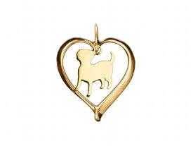 ラブラドールレトリバー ドッグシルエット 18金 ゴールド モチーフ ネックレス レディース シンプル 送料無料 アクセサリー 雑貨ケース付き メンズ レディース ペット 犬 愛犬家 箱 ドッグネックレス 可愛い