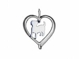 ラブラドールレトリバー ドッグシルエット シルバー925 モチーフ ネックレス レディース シンプル 送料無料 アクセサリー 雑貨ケース付き メンズ レディース ペット 犬 愛犬家 箱 ドッグネックレス 可愛い