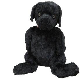 あす楽 あす楽 座り くたくた ブラック(黒) ラブラドールレトリバー ぬいぐるみ 犬 23cm ラブラドール 母の日 ギフト プレゼント 犬屋