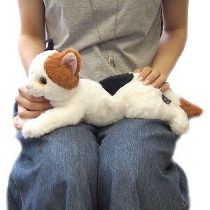 【あす楽】ひざねこ Sサイズ 猫 ミケ ぬいぐるみ サンレモン 雑貨 母の日 ギフト プレゼント 犬屋
