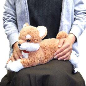 【あす楽】 ひざわんこ 犬 ぬいぐるみ 【柴犬 茶】 サンレモン 雑貨 母の日 ギフト プレゼント 犬屋