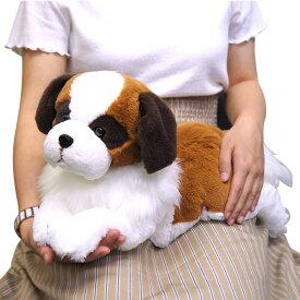 【あす楽】 ひざわんこ Mサイズ 犬 ぬいぐるみ セントバーナード サンレモン 雑貨 母の日 ギフト プレゼント 犬屋