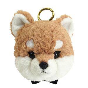柴犬 パスケース ぬいぐるみ 茶 サンレモン 母の日 ギフト プレゼント 犬屋