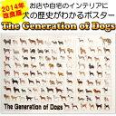 犬の系統図 ドッグジェネレーション ポスター 改定版 【あす楽】