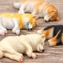 柴犬 ネムネム マグネット 8.2cm 置物 インテリア 犬 各種 雑貨 グッズ ポリレジン 犬屋