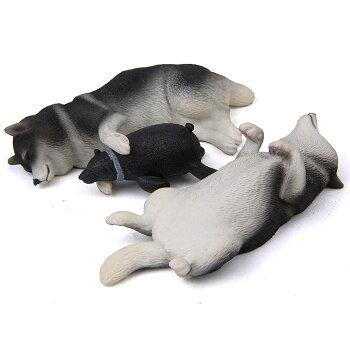柴犬・ネムネム・マグネット・横向き・犬・各種雑貨・グッズ