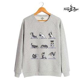 オーナー トレーナー ミニチュアシュナウザー ヨガ ポーズ メンズ・レディース デザイン イラスト 犬 (S〜XL)犬屋