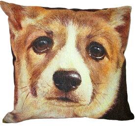 【あす楽】 クッション カバー と本体セット 45×45cm コーギー【B】 雑貨 グッズ kingdogs 犬屋 いぬや