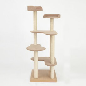 猫 キャットタワー 猫タワー(Marumi)「マルミ」 猫用 オーダーメイド 国内制作 防汚れ 抗菌(thithipet ティティペット) 送料無料 犬屋