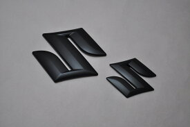 ZC72 ZC31 ZC32 ZC33 スイフト マットブラックエンブレム(艶消し) フロント単品  純正/メッキ/艶消し/黒/セット/単品/車/車パーツ/カーパーツ/高品質/送料無料