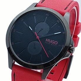 【ポイント2倍】(〜10/31) ヒューゴボス HUGO BOSS 腕時計 1530003 クォーツ ブラック レッド メンズ
