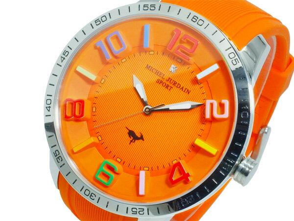 【今月特価】【ポイント5倍】(〜1/31) ミシェルジョルダン MICHEL JURDAIN クオーツ 腕時計 MJ-7700-10 メンズ
