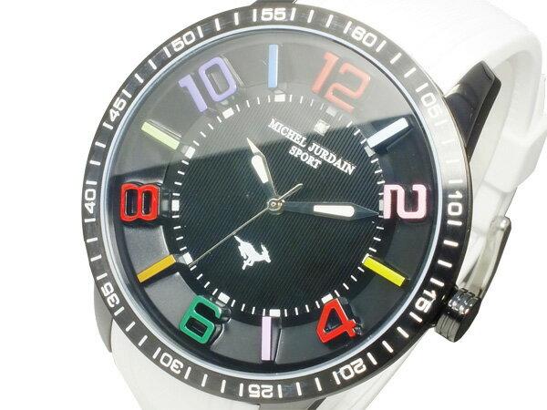 【今月特価】【ポイント5倍】(〜1/31) ミシェルジョルダン MICHEL JURDAIN クオーツ 腕時計 MJ-7700-2 メンズ