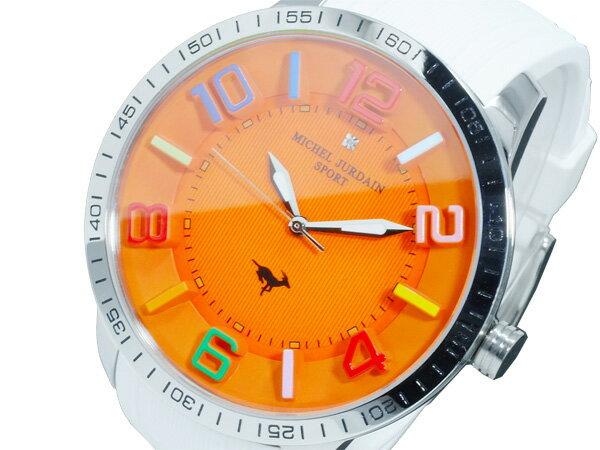 【今月特価】【ポイント5倍】(〜1/31) ミシェルジョルダン MICHEL JURDAIN クオーツ 腕時計 MJ-7700-9 メンズ