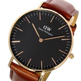 ダニエルウェリントン Daniel Wellingtonクラシック ブラック セントモース/ローズ 36mm 腕時計 DW00100136 メンズ レディース ユニセックス ラッピング プレゼント ギフト (1年保証)